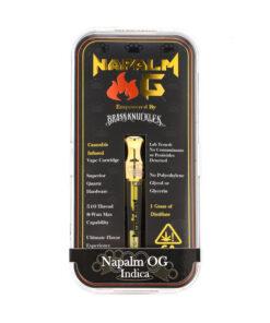 Buy Brass Knuckles Napalm OG Cartridge online
