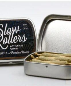 MED Slow Roller 12pk - Triangle Mints 24.2% - Unloc Gardens